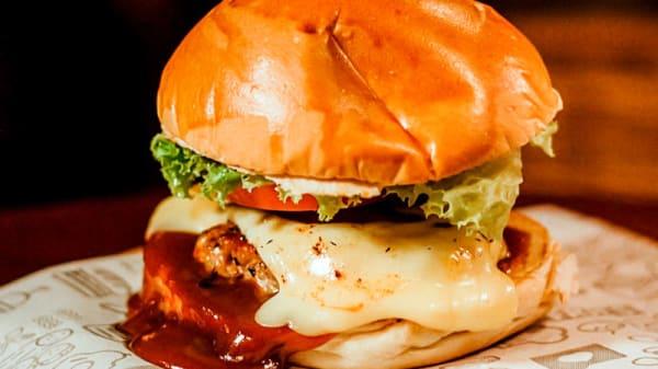 Burger Suíno - Maré Pub, Maceió