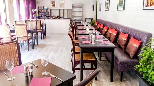 salle du restaurant - La Maison Thai, Rodez