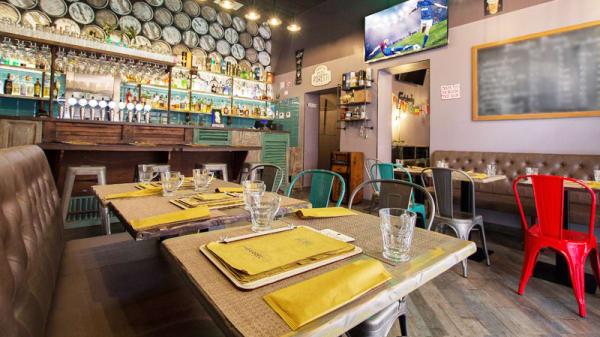 Sala Ingresso - The Barrel- Bar & Grill, Roma