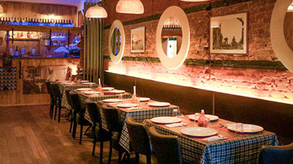 Restaurant - Casa Nostra, Amsterdam