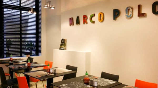 salle - Marco Polo Noodlebar, Bruges