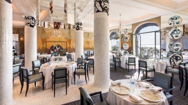 Salle du restaurant - La Passagère, Antibes