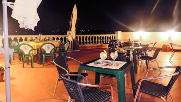 Vista terraza - Masia Can Fontimarch, Els Hostalets De Pierola