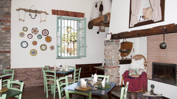 Sala del ristorante - Il Mulino di Cadrezzate, Cadrezzate