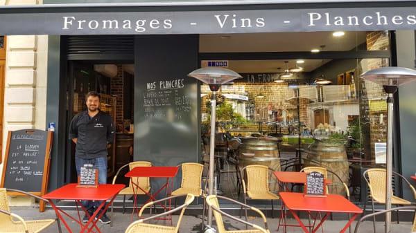 Devanture - Le Claque-Fromage, Paris