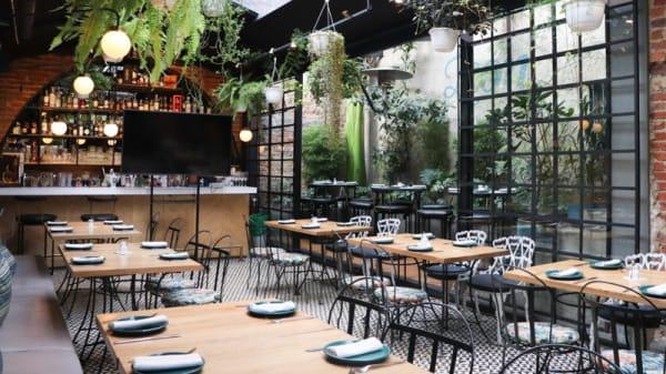 Vista sala - Leon Mozzarella Bar, Bogotá