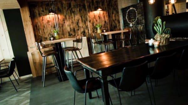 Het restaurant - De Locomotief, Groesbeek
