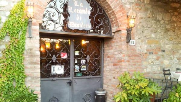 Entrata - La Locanda di Desideria, Fabro Scalo