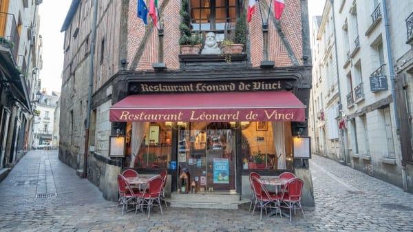 extérieur - Léonard de Vinci, Tours
