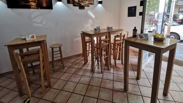 Vista sala - Pizza Spartaco, Rome