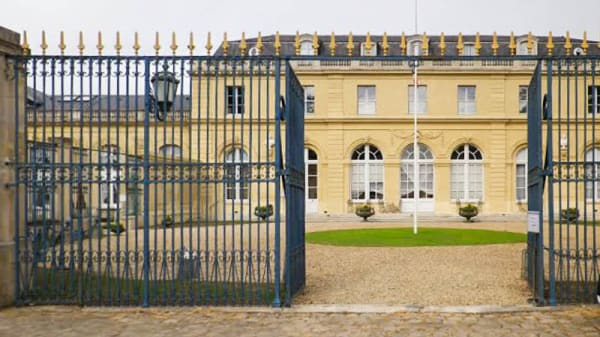 façade - Chateau du Val, Saint-Germain-en-Laye