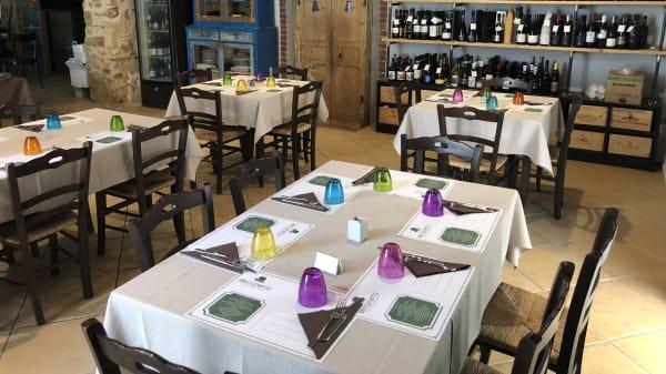 Sala ristorante  - Briccomatto La Locanda del Santo Bevitore, Partinico