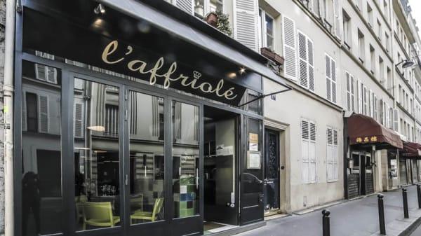 devanture - L'Affriolé, Paris