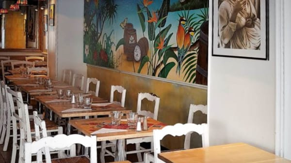 Salle de restauration - Caffe Créole, Paris