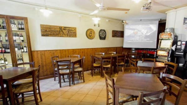 Vista sala - La Taverna, Feltre