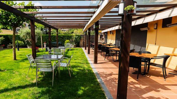 Vista terraza - La Quadra, Maçanet De Cabrenys