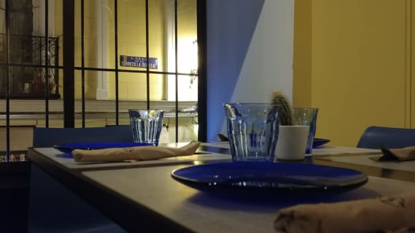 Detalle de la mesa - La Marquina, Madrid