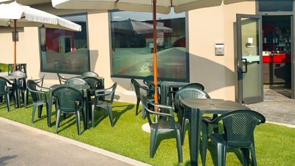 Vista della terrazza - Sisters Pizza & Coffee, Dalmine