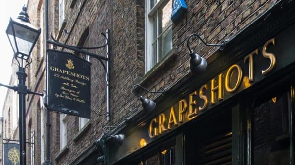 Grapeshots, London