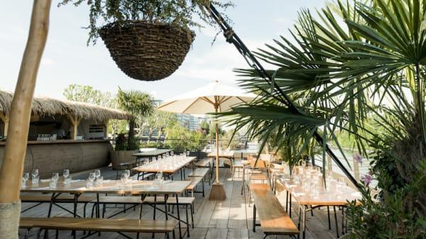 Vue terrasse - La Passerelle, Boulogne-Billancourt