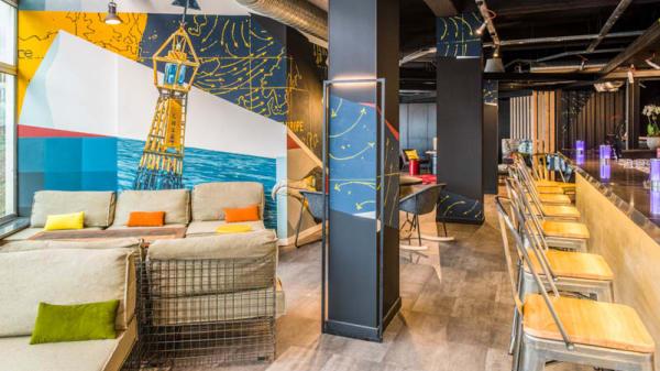 Restaurant Happy Dock - bar - Happy Dock - Brasserie Maison, Le Havre