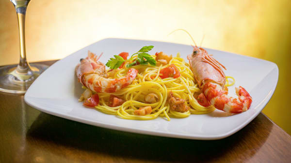 Spaghetti con gamberi - Sette Orti, Milano