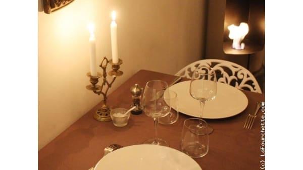 Table dressée - Restaurant Cocotte, Nantes