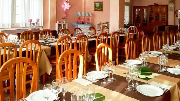 Vista sala - Restaurante Rosildos, La Serra d'en Galceran
