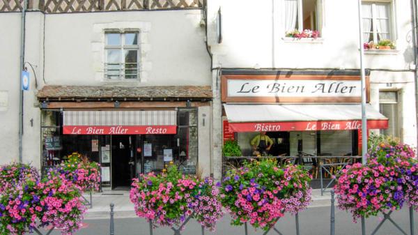 La façade - Le Bien Aller, Aubigny-sur-Nère