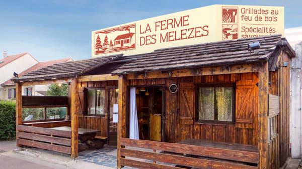 Devanture - La Ferme des Mélèzes, Noiseau