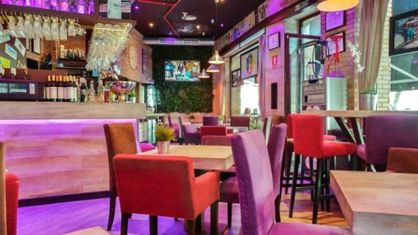 Vista de sala - Soho Café&Lounge Plutarco, Málaga