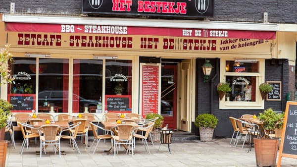 Ingang - Steakhouse het Bestekje, Amsterdam
