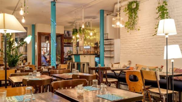 Salle du restaurant - Maison Saint-Maur, Paris
