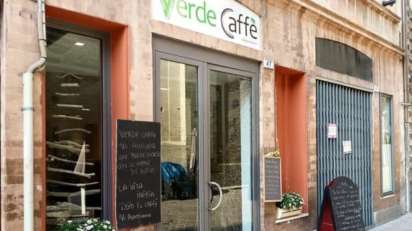 esterno - Verde Caffè, Macerata