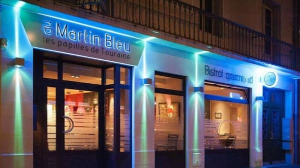 Entrée - Au Martin Bleu, Tours