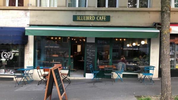 terrasse - Bluebird Café, Lausanne