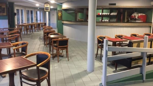 Salle du restaurant - Le Salin, Bréhal
