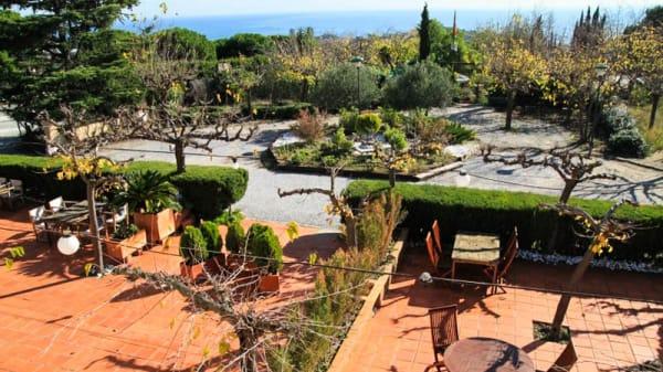 Vista terraza - Les Terrasses de Sant Romà