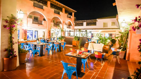 Ristorante - Cuzco Beach Club, Baja Sardinia
