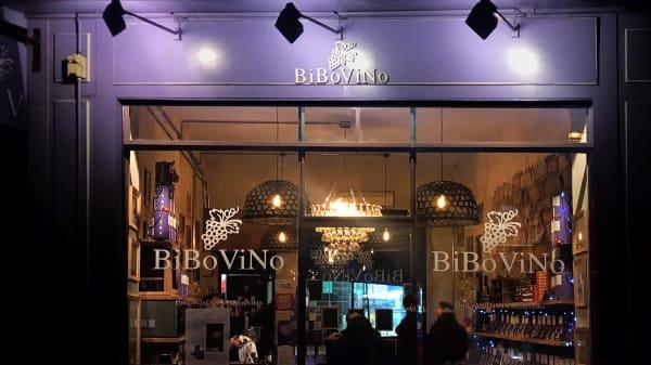 Façade - BiboVino bar à vin, Paris