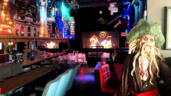 Vista de la sala - Maléfica Grill & Bar (Soho), CABA