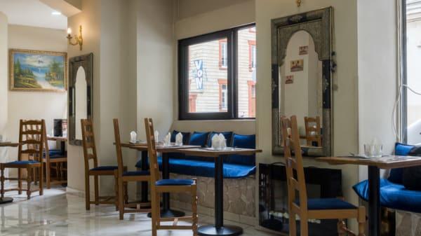 Salle du restaurant - Chez Kamela, Paris