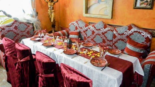 Vue table - Le Sultan, Thiais