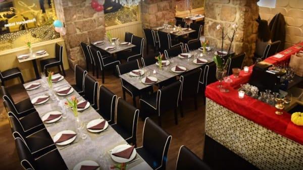 Salle du restaurant - Le Curry, Nice