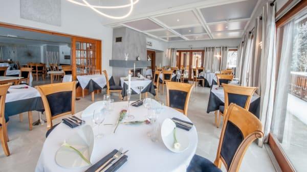Salle de restaurant - L'Ancolie, Cruseilles