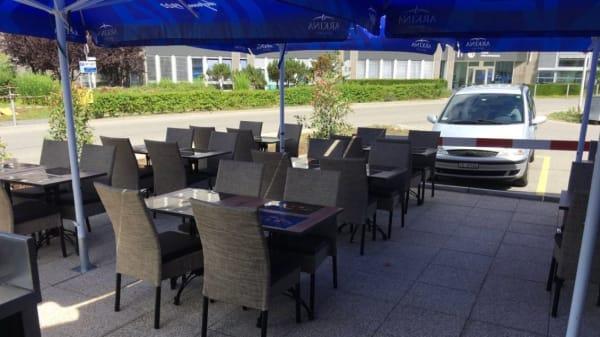 Terrasse - Moncor Café, Villars-sur-Glâne