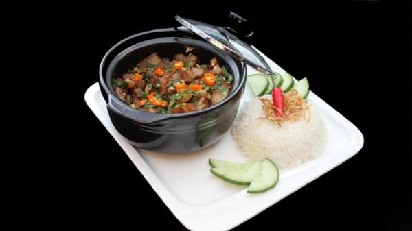Riz au porc caramélisé - Ambiance Asie, Villejuif