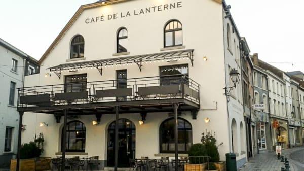 Devanture - Café de la Lanterne, Genappe