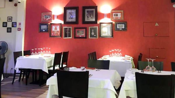 Vista do interior - Pashmina Indian restaurante-Carvoeiro, Carvoeiro