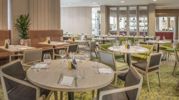 Internal view - Bramleys Brasserie at The Orchard hotel, Nottingham